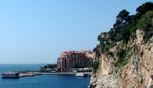 Mediterranean View from the Rock