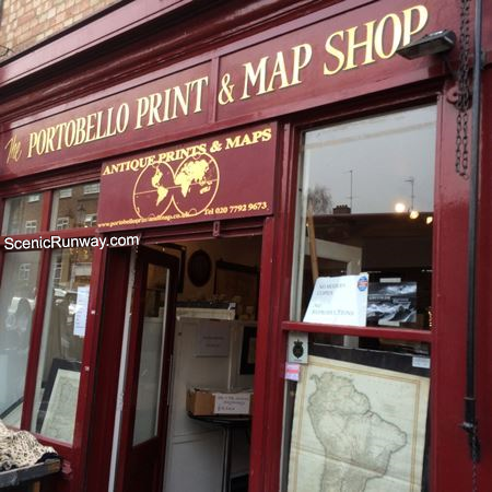 Portobello Print and Map Shop