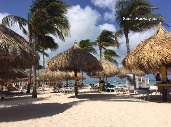 Relaxing Aruba Beach View