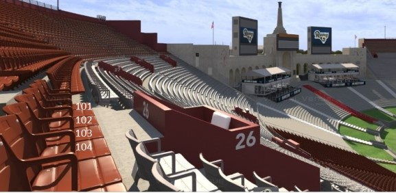 Single Game Rams Seats for Purchase